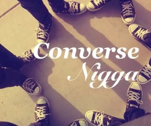 converse, fashion, and swag image
