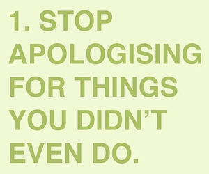 apologise, text, and typography image