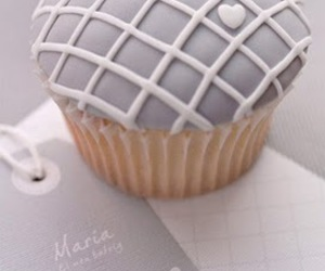 cupcake, grey, and gorgeous image