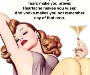 funny, vodka, and pain image
