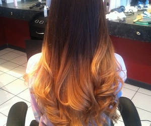 long, perfection, and dip dye image