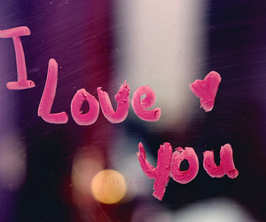 love, I Love You, and pink image