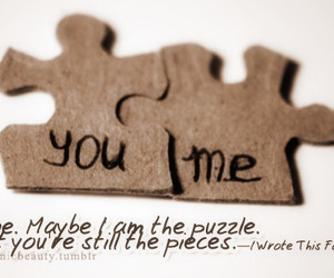 puzzle, love, and you image