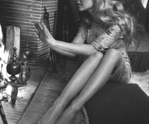black and white, brigitte bardot, and girl image