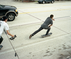 boy, male, and skate image