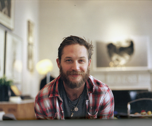 tom hardy, beard, and handsome image
