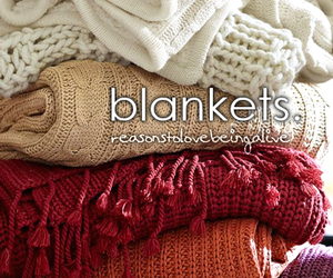 blankets and reasonstolovebeingalive image
