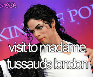 madame tussauds, before i die, and london image