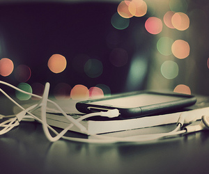 ipod, music, and book image