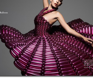 dress and balloons image