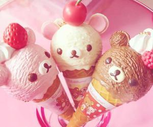 ice cream, kawaii, and food image