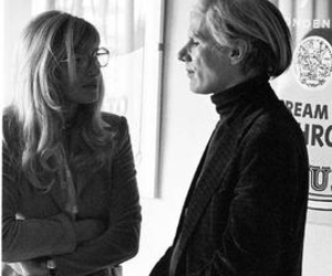 andy warhol and Monica Vitti image