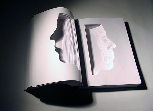 art, book, and sculpture image