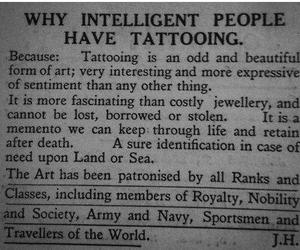tattoo, art, and intelligent image