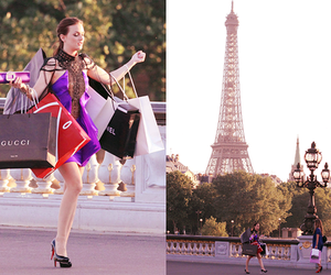 paris, gossip girl, and blair image
