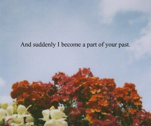quotes, past, and sad image