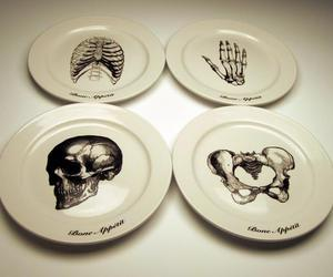 dish, skeleton, and bones image