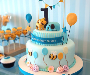 cute, balloons, and birthday image