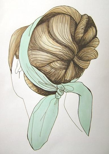 hair, illustration, and drawing image