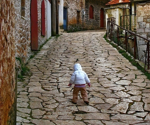 child, city, and cute image