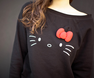 fashion, cute, and hello kitty image