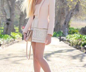 blazer, dress, and fashion image