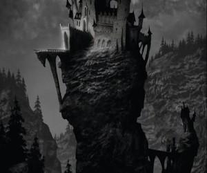 castle and dark image