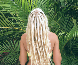 beach, blonde, and california image