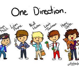 tegninger af one direction
