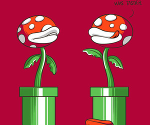 mario, funny, and illustration image