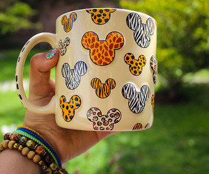 mickey, cup, and disney image