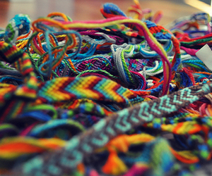 bracelet, colors, and colorful image