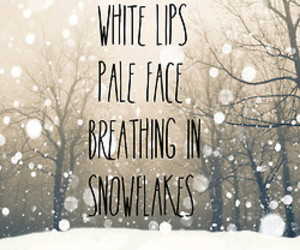 pale face, winter, and white lips image