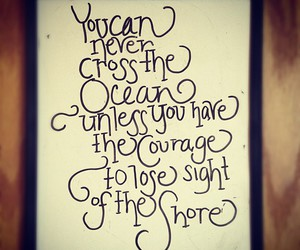 ocean, quote, and sayings image