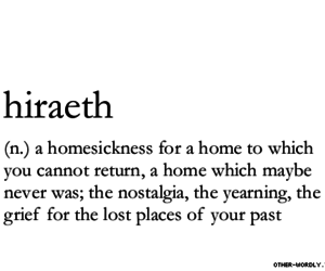 fear, homesick, and past image