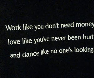 quote, dance, and text image