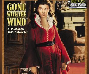 calendar, christmas, and Gone with the Wind image