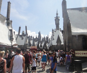 harry potter, potter, and universal studios image