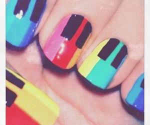 nails, piano, and music image