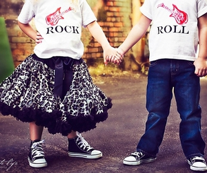 rock, kids, and boy image