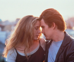 before sunrise, love, and couple image