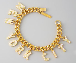 gold, bracelet, and new york city image