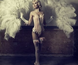 burlesque, ballerina, and vintage image