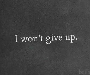 quotes, give up, and black and white image