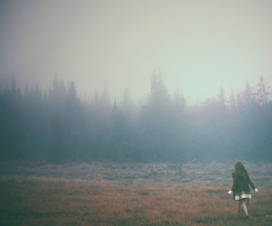 forest, paranoia, and girl image