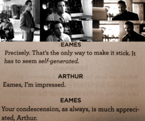 arthur, Eames, and inception image