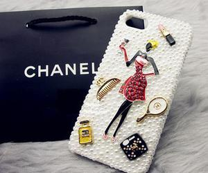 chanel girls, iphone 5 cases, and chanel iphone cover image