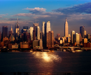 city, new york, and photography image