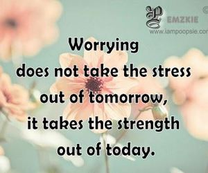 anxiety, quote, and strength image