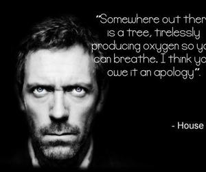 breathing, doctor, and gregory house image